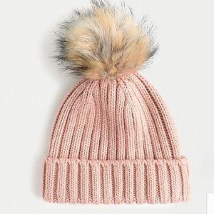 NEW J. Crew Ribbed Beanie Snow Hat